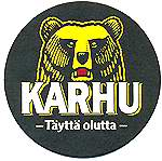 Beer Mats Coasters From Finland Karhu